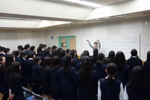 ①合唱授業