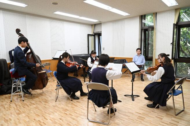 室内楽(弦)授業風景